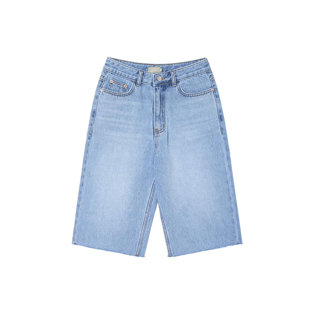 SI JN 6013 Bermuda Denim Shorts